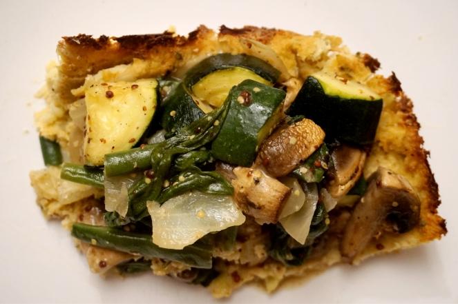 cauliflower-base open veggie pie4